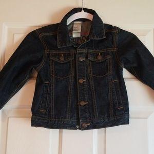 Boys Osh Kosh Denim Jacket - Size 4